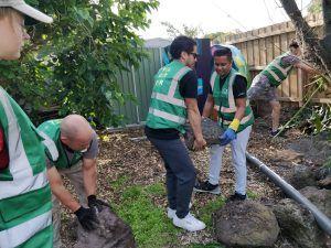 Building Ecological Pond (Australia)