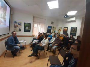 Lecture on architecture and history of Volgograd city (Volgograd, Russia)