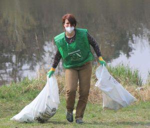 Ecological clean-up (Hradec Králové, Czech Republic)