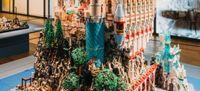 Winnende bouwwerken met LEGO in de Hermitage St. Petersburg