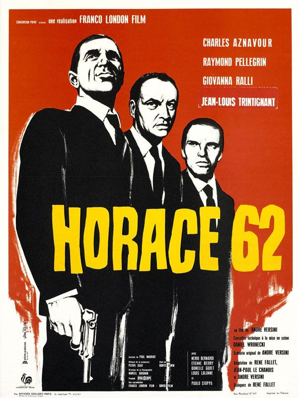 Horace 62 French 1962 DVDrip 720p Xvid MP3