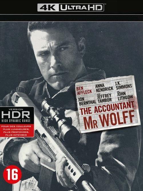 Mr Wolff - 2016 - Remux BluRay 2160p 4K UHD - HDR10 - HEVC/H265 - VFF - VFQ - EN - DTS-HD Master - AC3 - (The Accountant)