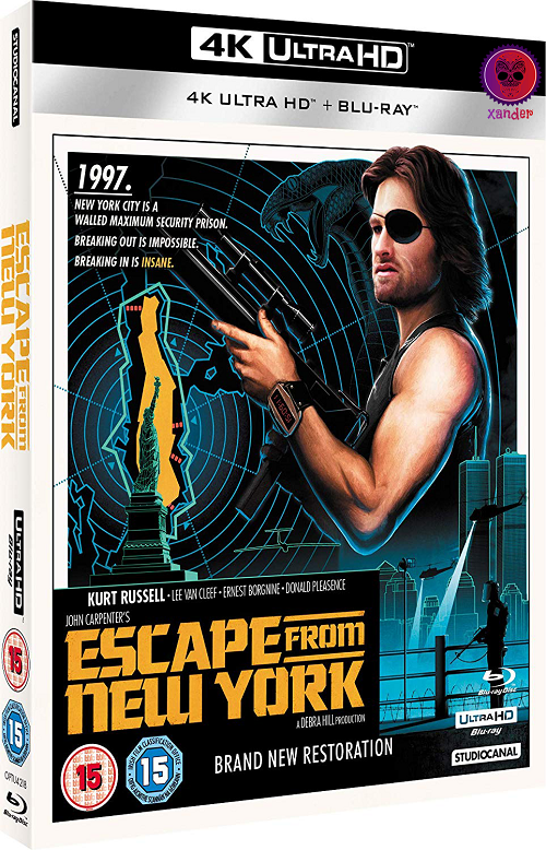 Escape From New York (1981) MULTi VFF 2160p 10bit 4KLight HDR BluRay x265 AAC 5 1 - XANDER