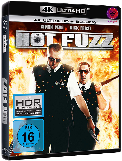 Hot Fuzz (2007) MULTi VFF 2160p 10bit 4KLight HDR Bluray x265 AAC 7 1 - XANDER