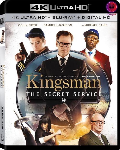 Kingsman The Secret Service (2014) MULTi VFF 2160p 10bit 4KLight HDR Bluray x265 AAC 7 1 - XANDER