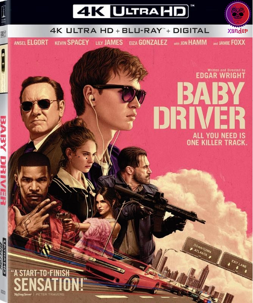 Baby Driver (2017) MULTi VFF 2160p 10bit 4KLight HDR Bluray x265 AAC 7 1 - XANDER