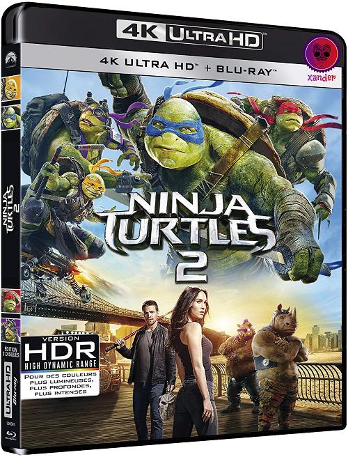 Teenage Mutant Ninja Turtles 2 (2016) MULTi VFF 2160p 10bit 4KLight HDR Bluray x265 AC3 5 1 - XANDER