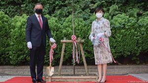 Duda: Japończycy się nie bali