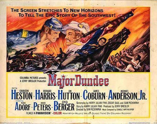 Major Dundee (1965) Ext VOSTFR - 1080p BluRay Remux H 264 DTS-HD