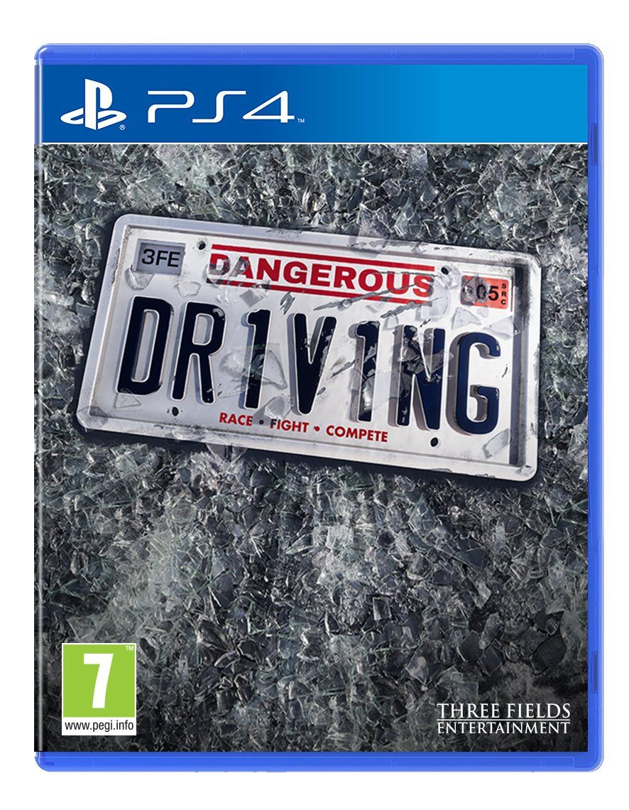 Dangerous Driving PS4 PKG