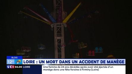 divers, accident, firminy, mortel, manege, dramefait, decedee, grievement, blessee, survenu