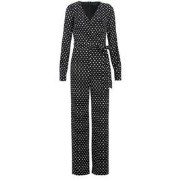 Ολόσωμες φόρμα Lauren Ralph Lauren POLKA DOT WIDE LEG JUMPSUIT Σύνθεση: Matière synthétiques,Spandex,Πολυεστέρας