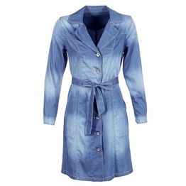 Καπαρτίνες Cream DENIM TRENCHCOAT