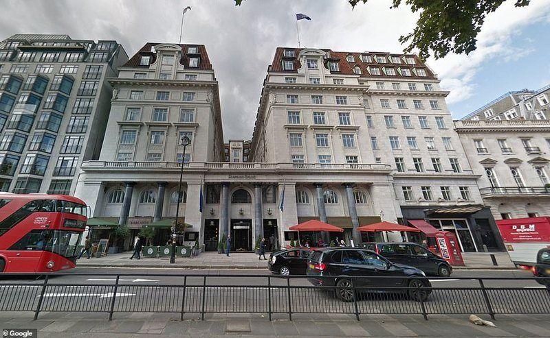 5-звездочный отель Sheraton Grand в Лондоне, принадлежащий Саттону