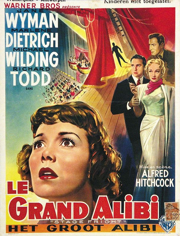 Le Grand Alibi (Stage Fright) Alfred Hitchcock 1950 Multi 1080 HDRip x264 AC3 AAC