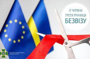 За три року «безвізу» українці здійснили майже 49 млн поїздок в країни ЄС