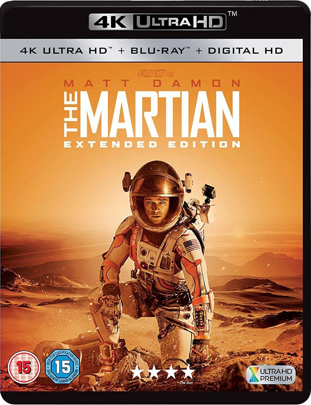 The Martian 2015 EXTENDED MULTi VF2 2160p UHD BluRay 4KLight HDR HEVC DTS 5 1-Shiro