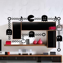 Aυτοκόλλητο τοίχου PACMAN
