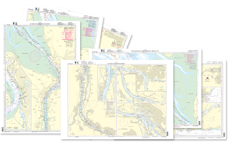 BSH Seekarten als Print-on-Demand bei HanseNautic
