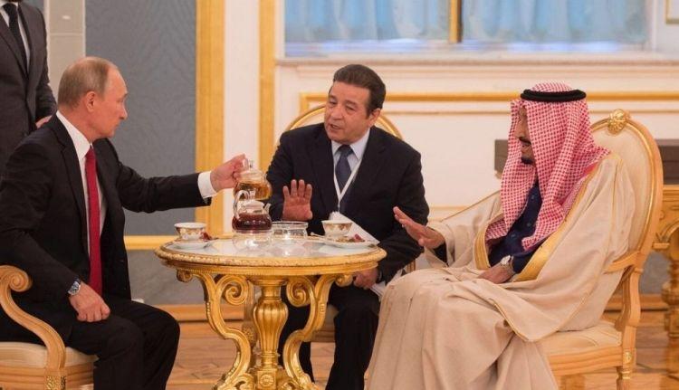 Путин и чай