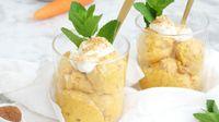 Helado cremoso de zanahoria: la original receta vegetal para el postre