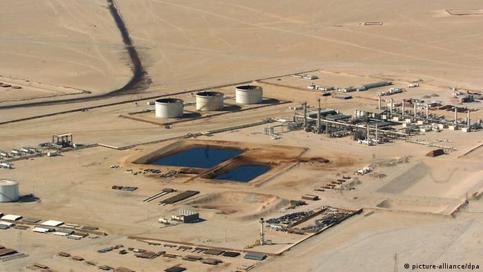 Нафтогазовий об'єкт німецької компанії Wintershall в Лівії