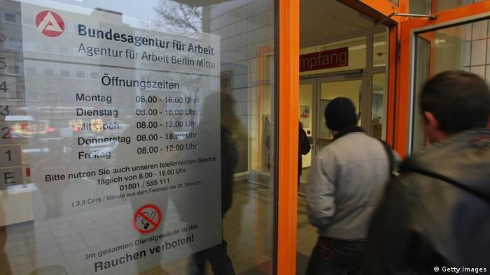 Symbolbild Deutschland Arbeitslosigkeit