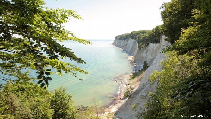 Крейдяні скелі на Рюгені