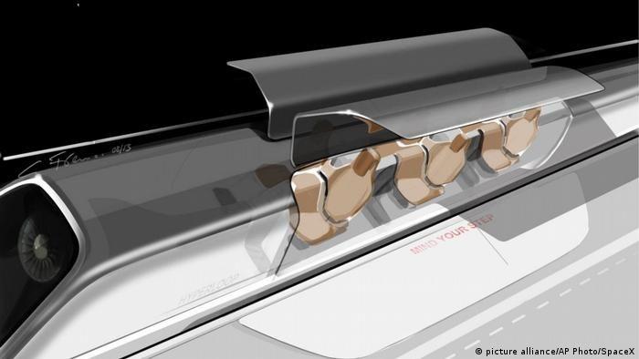 Випробування Hyperloop(picture alliance/AP Photo/SpaceX)
