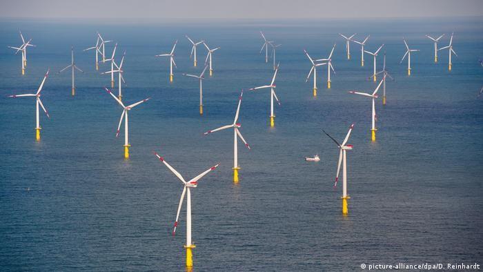 Північне море (Шлезвіг-Гольштейн) Альтернативна енергетика Німеччини