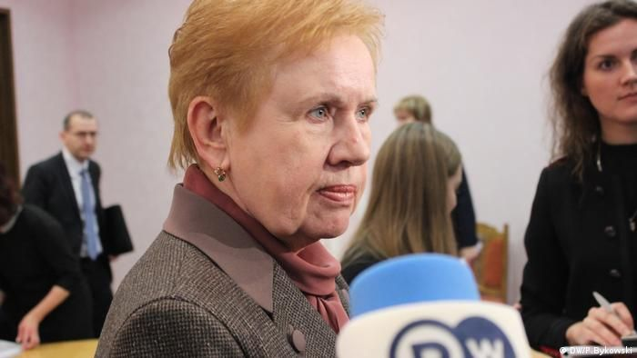 Голова ЦВК Білорусі Лідія Єрмошина