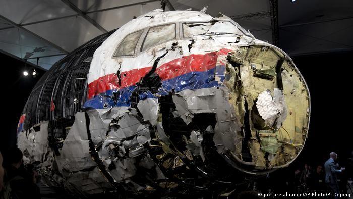 Реконструйований Boeing MH17