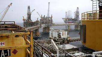 Видобуток нафти й газу в Північному морі біля берегів Норвегії