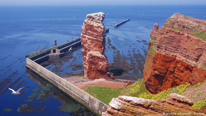 Довга Анна на острові Гельґоланд