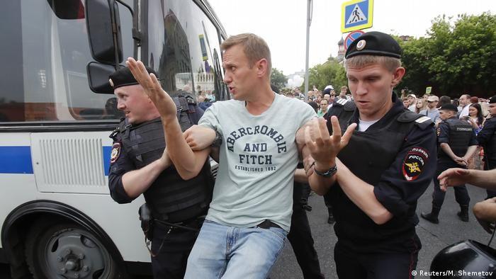 Повторні арешти Навального