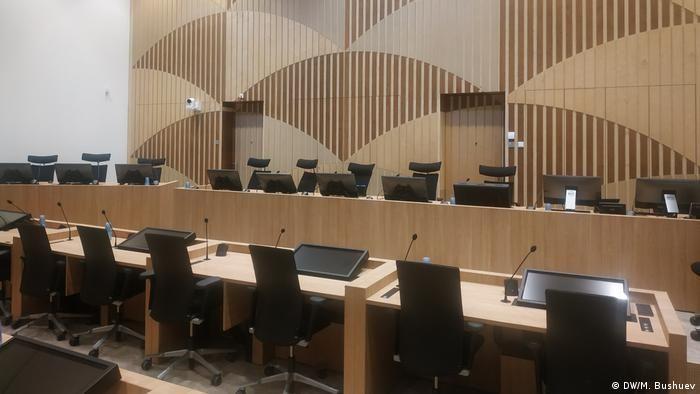 Зала, де проходитиме судове засідання