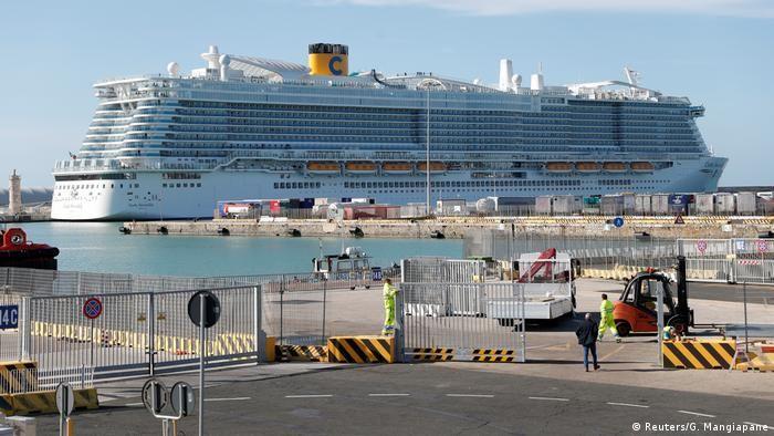 Круїзний лайнер Costa Smeralda