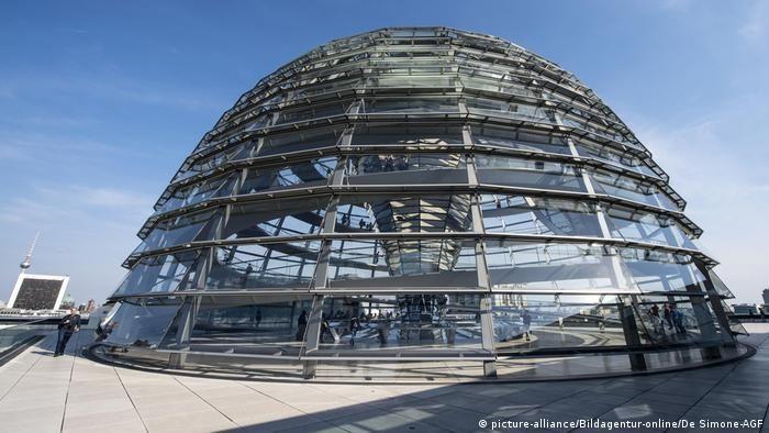 Купол Рейхстагу зазвичай відкритий для туристів
