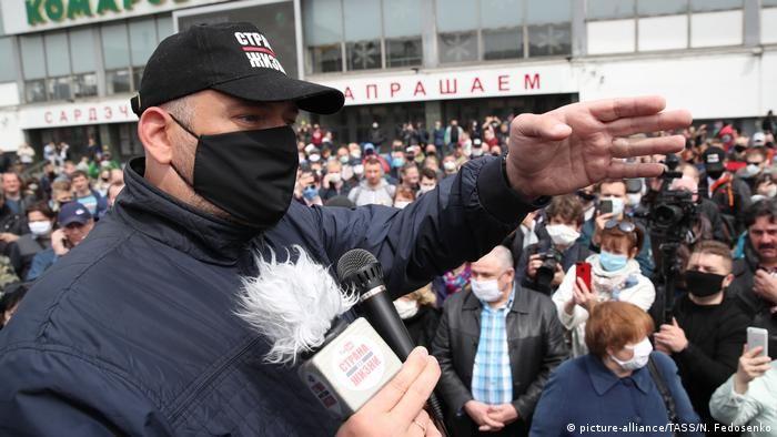 Відеоблогер Сергій Тихановський