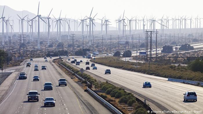 Вітропарк в американському штаті Каліфорнія