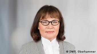 Шер-редакторка DW Мануела Каспер-Кларідж