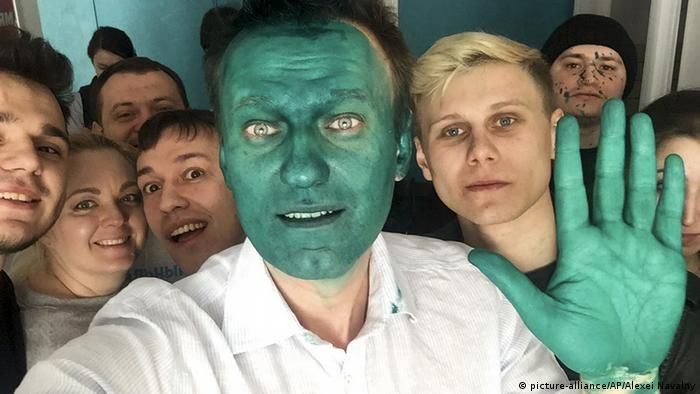 Інші напади на Олексія Навального