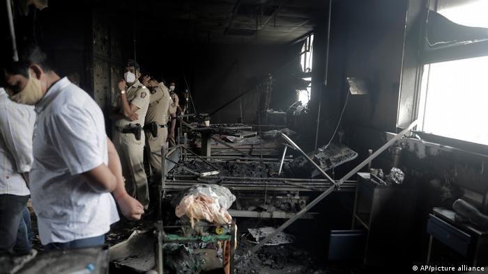 Пожежа в реанімації лікарні у передмісті Мумбая