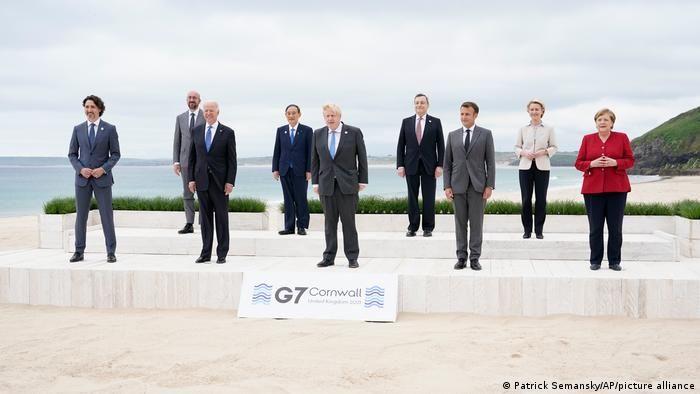 Учасники саміту G7 в Англії