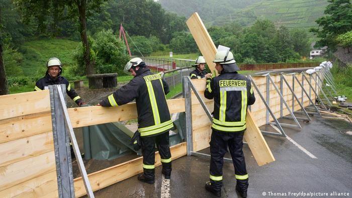 Захисні споруди від повені в землі Рейнланд-Пфальц