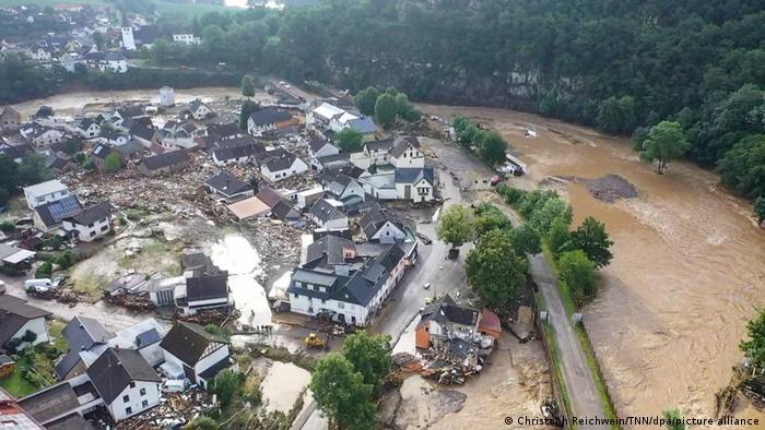Затоплення в долині річки Ар на заході Німеччини