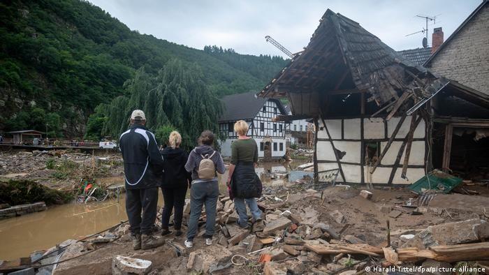 Наслідки негоди на заході Німеччини