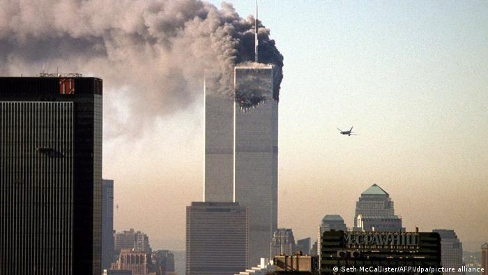 11 вересня 2001: Всесвітній торговий центр у вогні