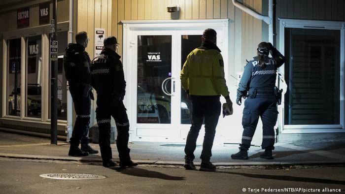 Правоохоронці на місці інциденту в Конгсберзі