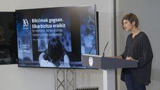 Euskadi conmemora diez años sin terrorismo de ETA con dos actos separados en sus dos memoriales